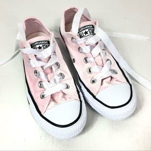 Converse All Star Chuck Taylor Pink Velvet Shoes 6